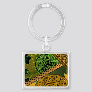CELTIC-KNOTWORK-IRISH-LAPTOP-SK Landscape Keychain
